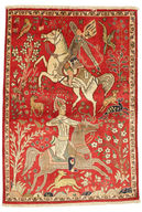 Tabriz pictorial carpet EXZO1408