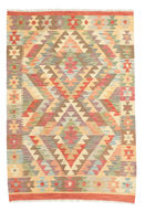 Kilim Afghan Old style carpet ABCK837