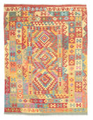 Kilim Afghan Old style carpet ABCK865