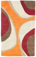 Minar Handtufted - Orange / Red carpet RVD6324
