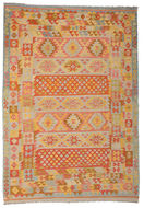 Tapis Kilim Afghan Old style ABCK1396