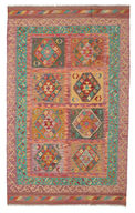 Tapis Kilim Afghan Old style ABCK1095