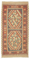Kilim Afghan Old style carpet ABCK1107