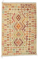 Tapis Kilim Afghan Old style ABCK1109