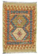 Tapis Kilim Afghan Old style ABCK1116