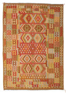 Kilim Afghan Old style carpet ABCK1401