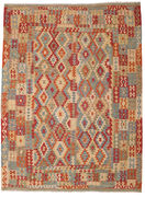 Kilim Afghan Old style carpet ABCK1143