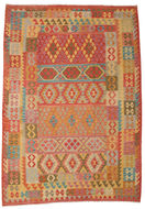 Kilim Afghan Old style carpet ABCK1171