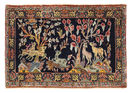 Tapis Kashan figural/pictural EXZS764