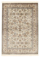 Kashmir pure silk carpet XVZA299