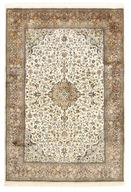 Kashmir pure silk carpet XVZB2