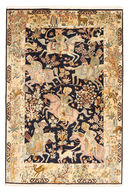 Kashmir pure silk pictorial carpet XVZA22