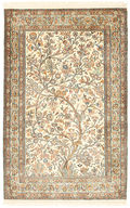 Kashmir pure silk carpet XVZA86