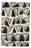 Triangle Dance - Light Grey carpet CVD13305