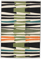 Stripe Over and Under Flatweave carpet CVD11851