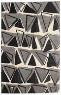 Triangle Dance - Dark Grey carpet CVD12244