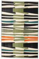 Alfombra Stripe Over and Under Flatweave CVD11849